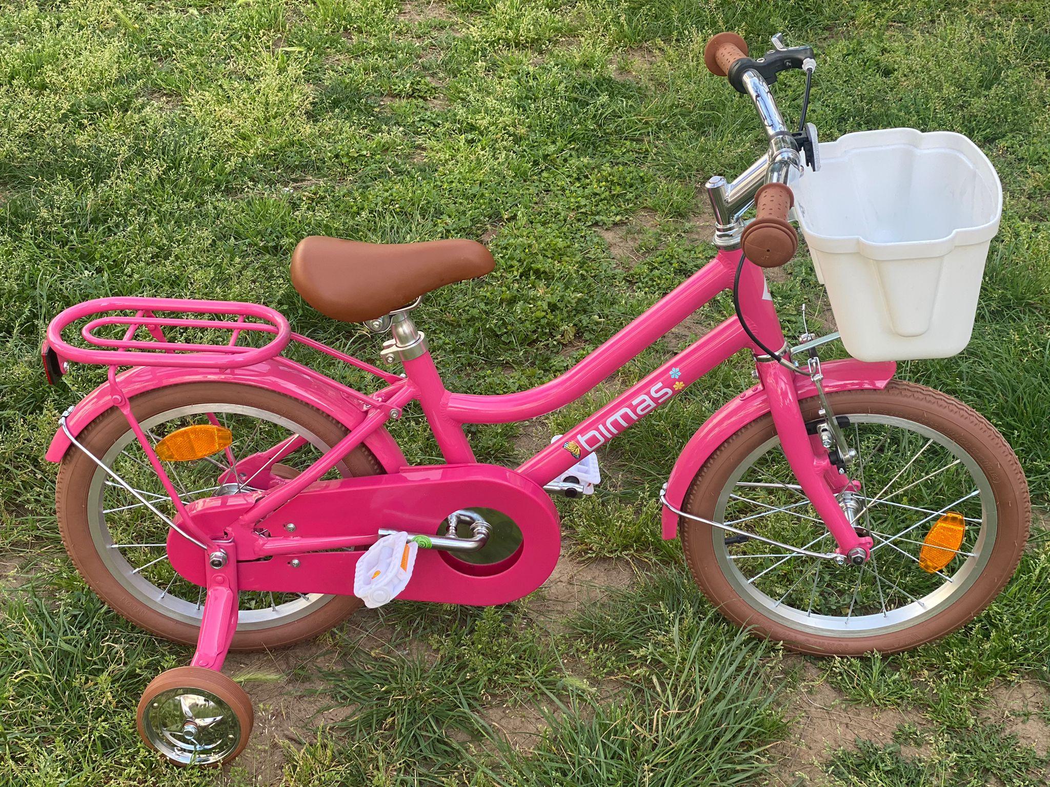 """2021 Bimaş 16"""" Kız Çocuk Bisikleti"""