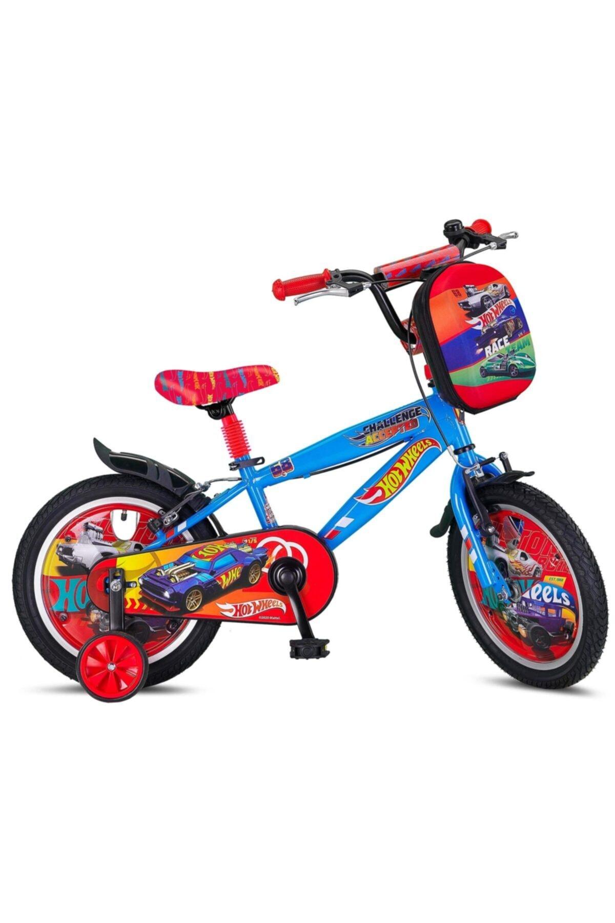 "2021 Ümit Hot Wheels BMX V 16"" Çocuk Bisikleti"