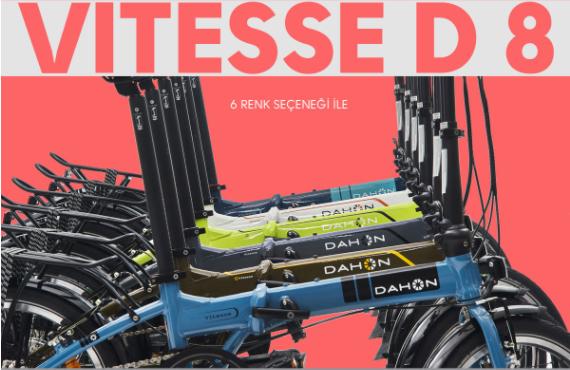 Dahon Katlanabilir Bisiklet Modelleri Stoklarımızda