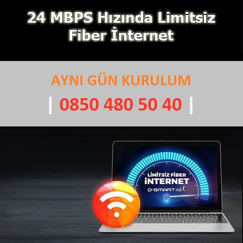 Evimde Fiber İnternet + D-Smart GO