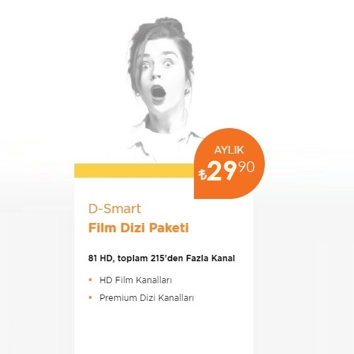 D-Smart TV Film Dizi Paketi