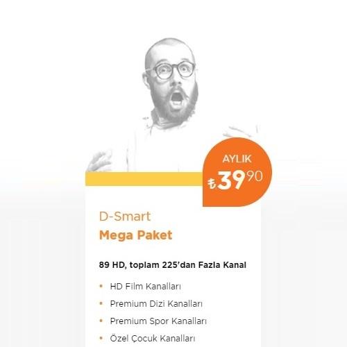 D-Smart TV Mega Paket