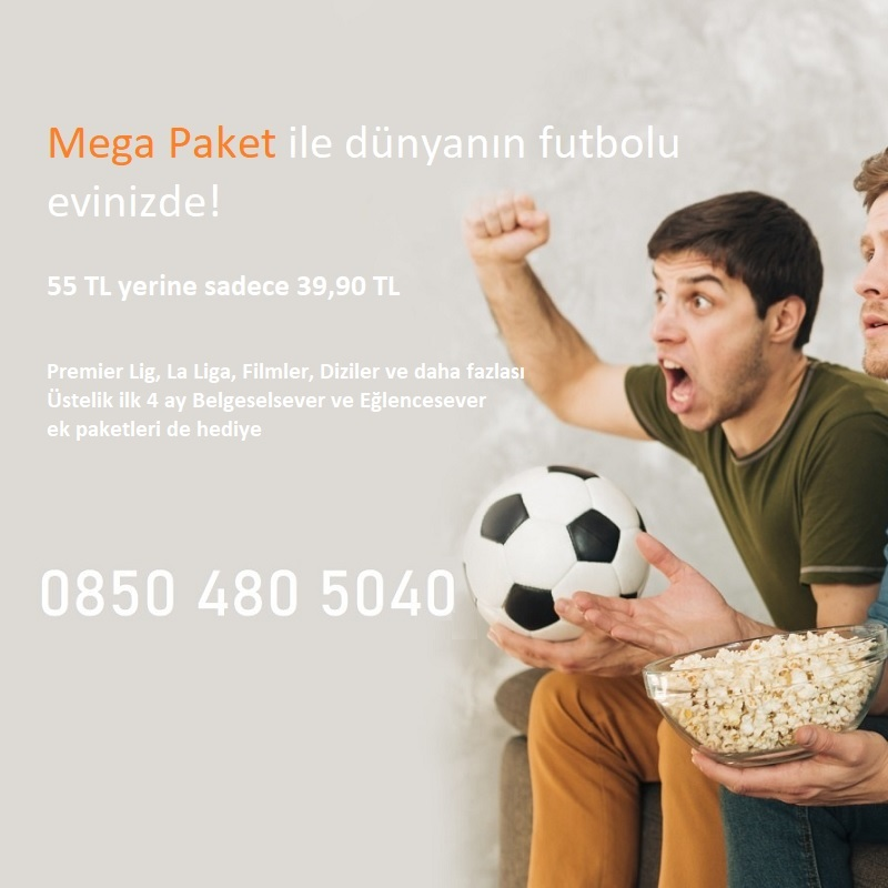 Mega Paket ile Futbola Dönüş