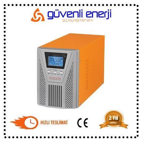 MAKELSAN POWERPACK SE 1KVA ONLİNE  2 X12V  9AH  UPS