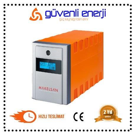 MAKELSAN LİON+PLUS 1500VA LİNE İNTERACTİVE 2 X12V  9AH  UPS