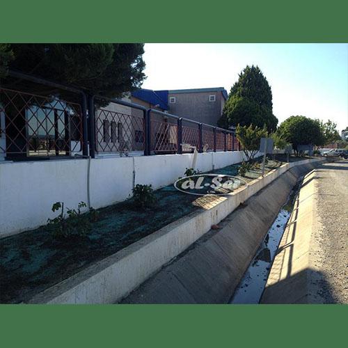 Fabrika Bahçesi (doğal tohum halısı)