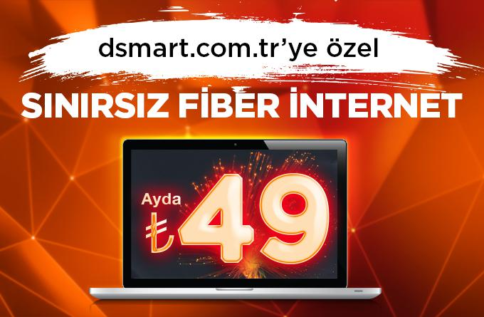 Sınırsız Fiber İnternet  Keyfi D-Smartta
