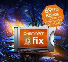 D-Fix Modül CI+ Digital 4K UHD+FHD 12 Ay AileSpor Paketli
