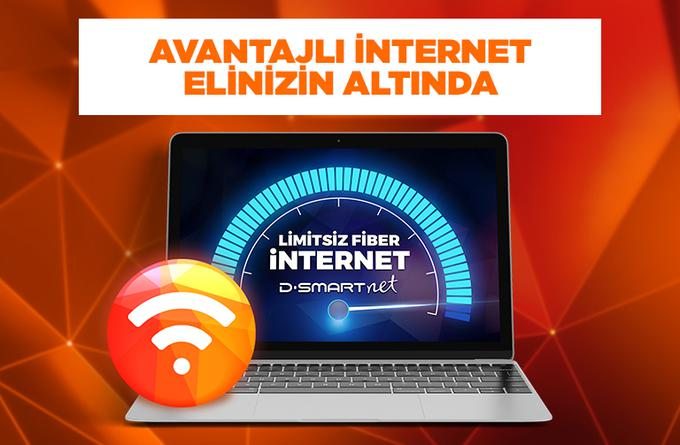 AVANTAJLI iNTERNET ELİNİZİN ALTINDA