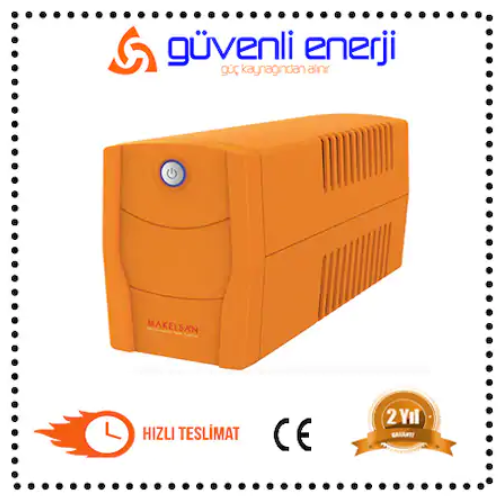 Makelsan Lion X 650VA UPS - LİNE İNTERAKTİF