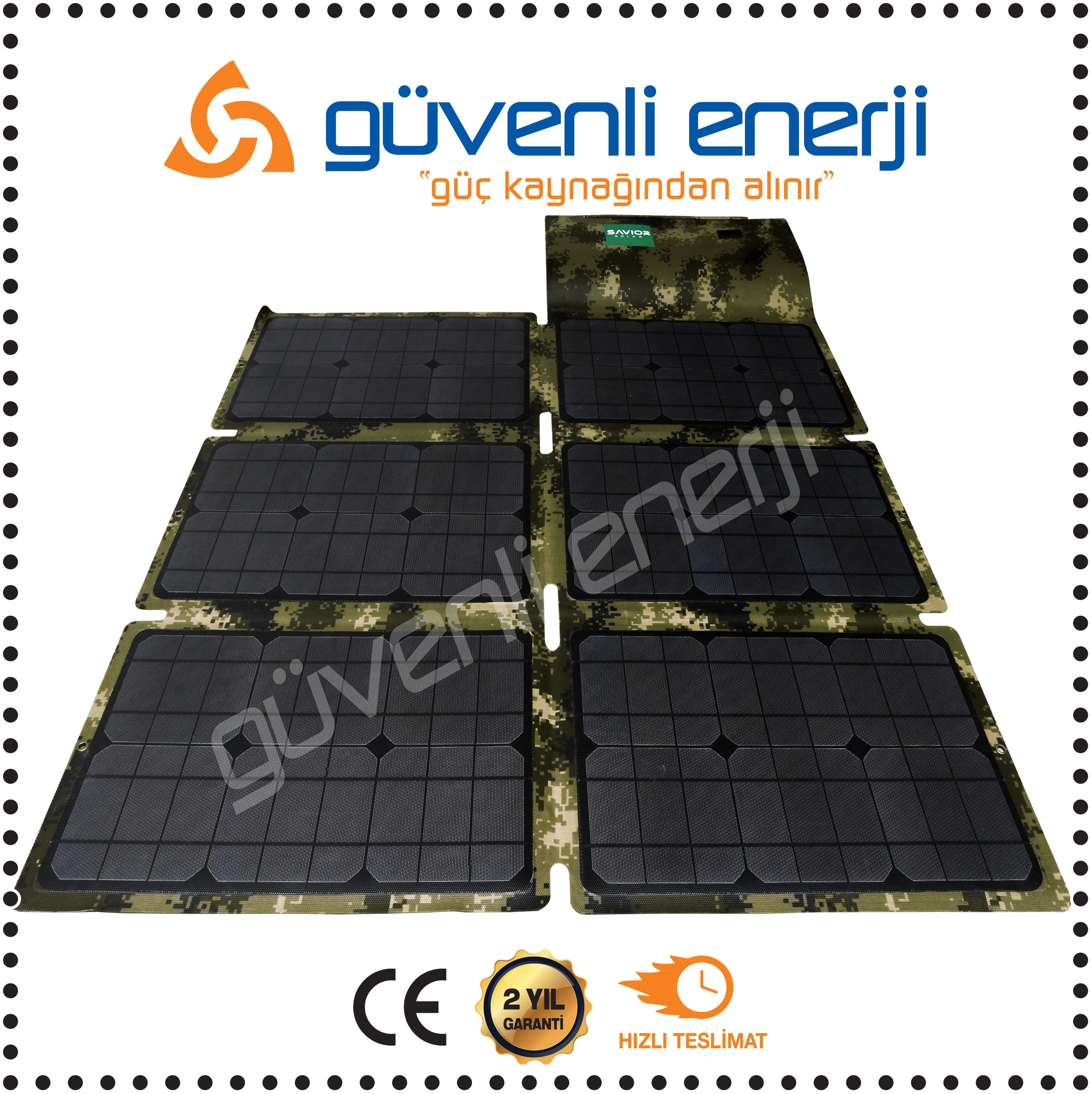 150W Watt Katlanabilir Güneş Paneli XE-M150