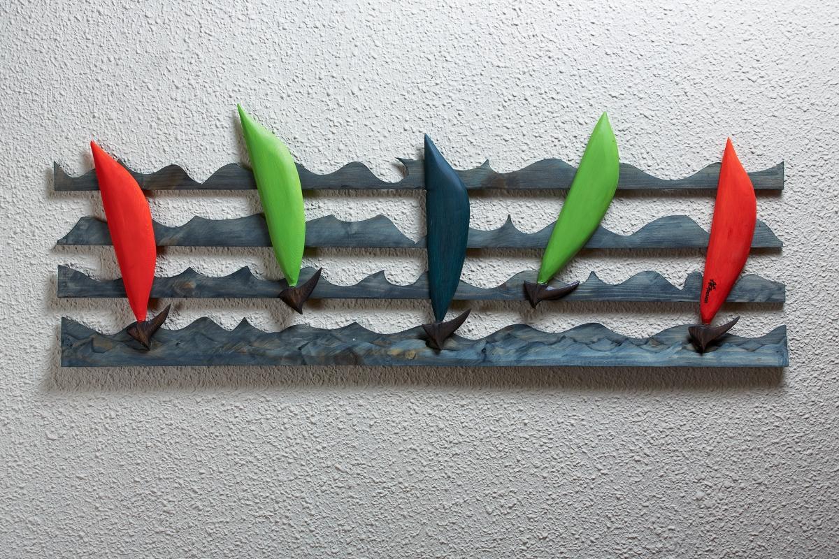 Yelkenli Duvar Panosu